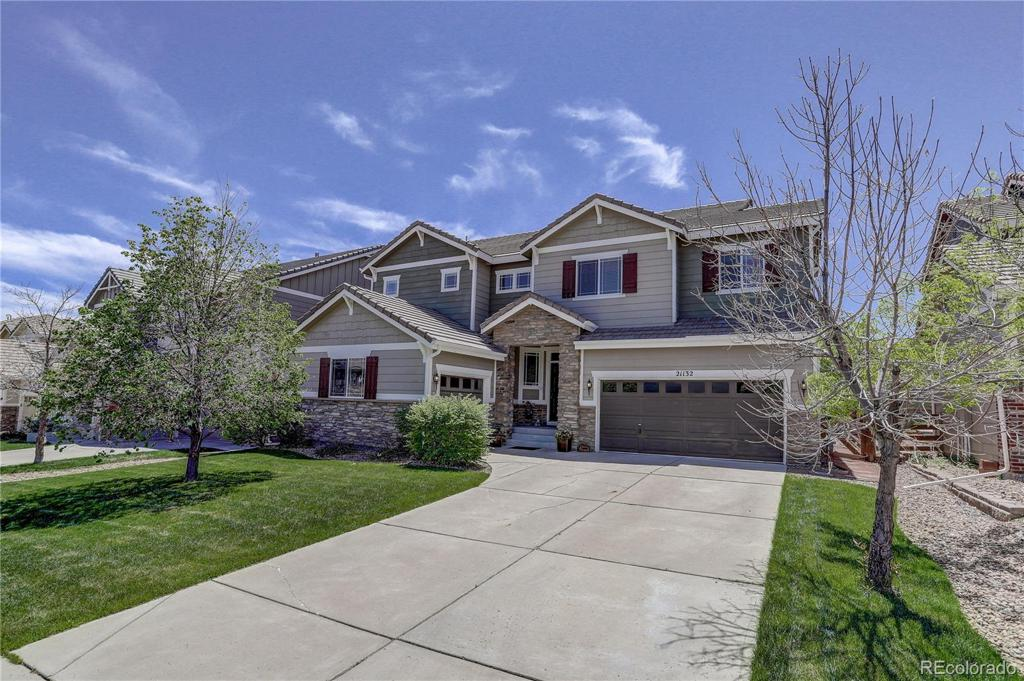 Photo of home for sale at 21132 Whitaker Drive E, Centennial CO