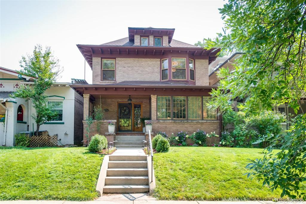 Photo of home for sale at 772 Marion Street N, Denver CO