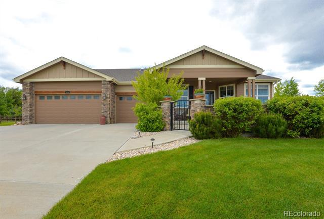 Photo of home for sale at 8789 Longs Peak Circle, Windsor CO