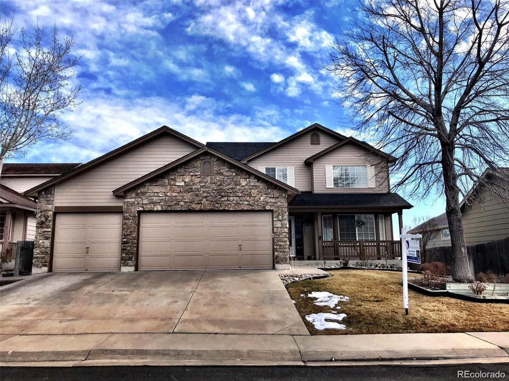 Photo of home for sale at 13446 Dexter Way, Thornton CO