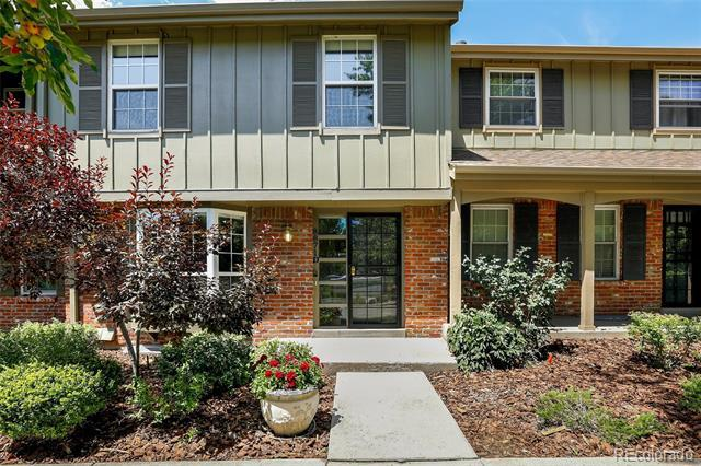 Photo of home for sale at 8871 Amherst Drive E, Denver CO