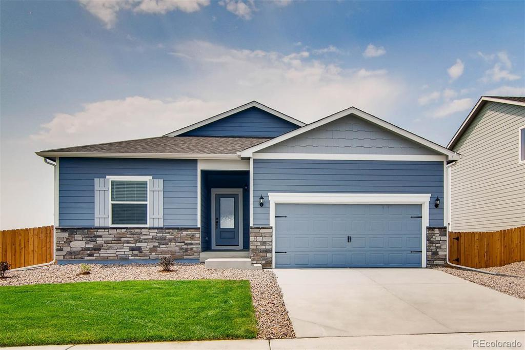 Photo of home for sale at 8847 Walden Street, Commerce City CO