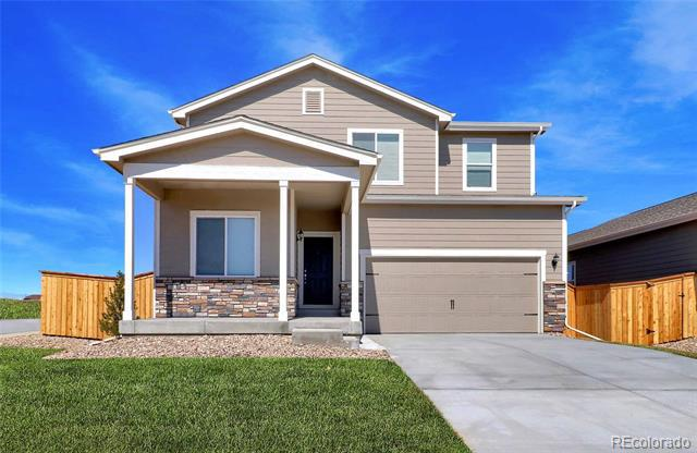Photo of home for sale at 47343 Iris Avenue, Bennett CO