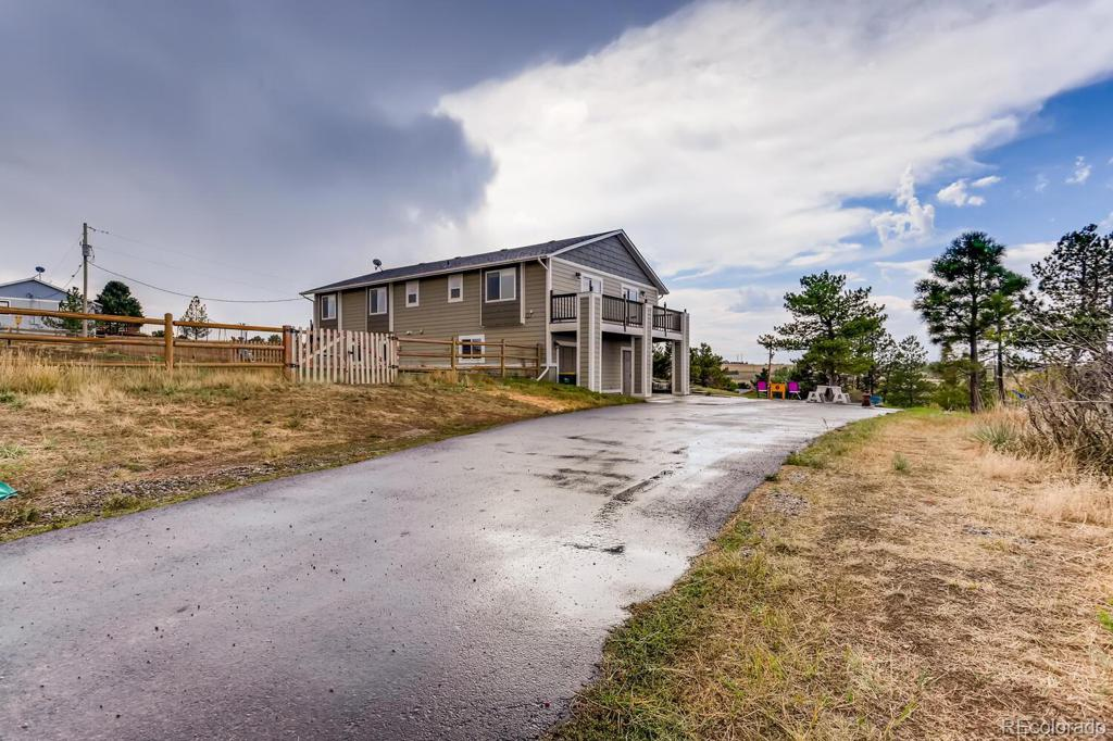 Photo of home for sale at 10310 Black Forest Drive, Parker CO