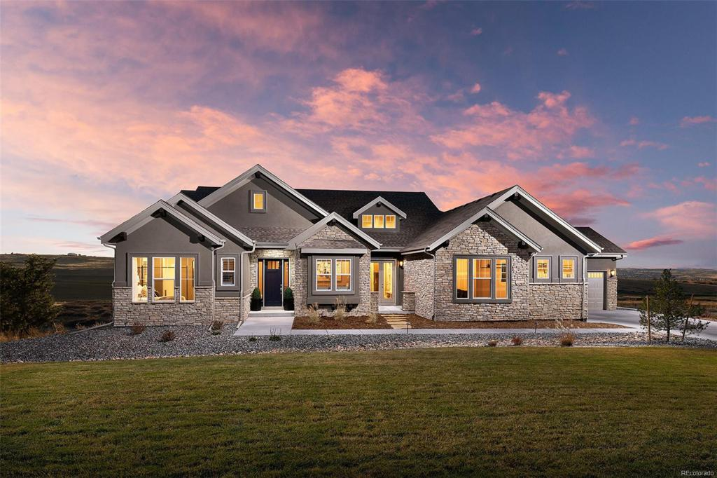Photo of home for sale at 8750 Red Primrose Street, Franktown CO