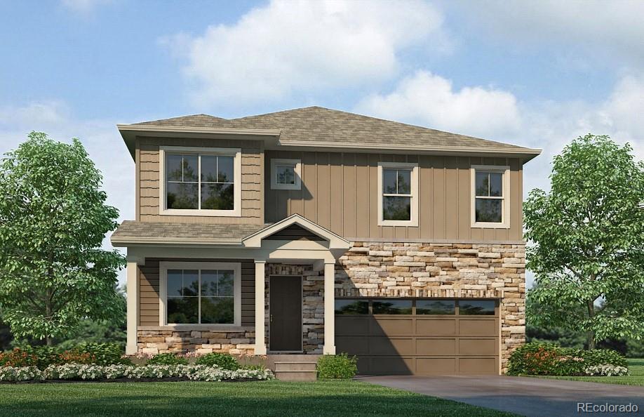 Photo of home for sale at 2188 Fiadore Trail, Castle Rock CO