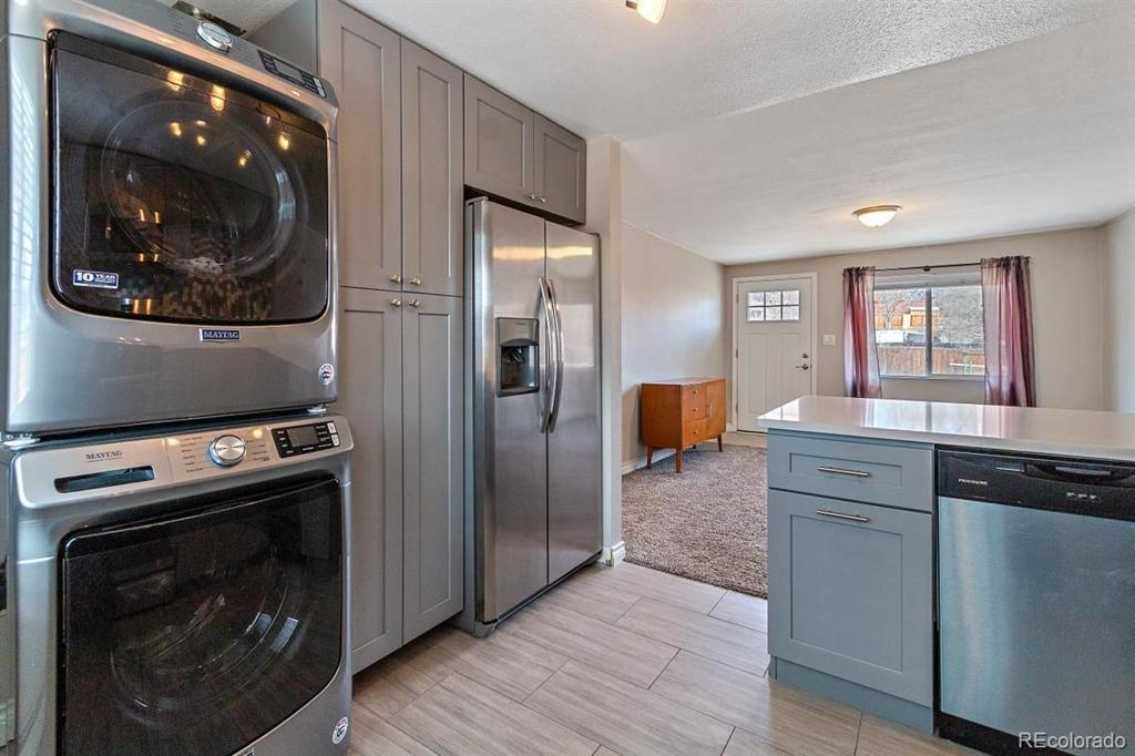 Photo of home for sale at 4810 8th Avenue W, Denver CO
