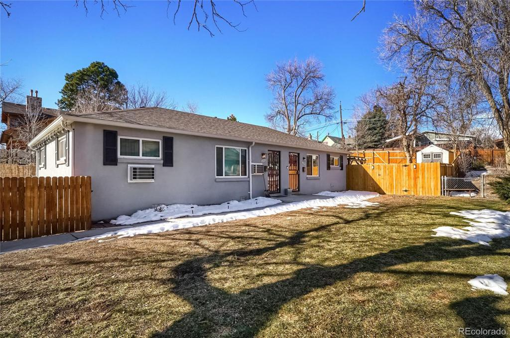 Photo of home for sale at 2545 Pearl Street S, Denver CO