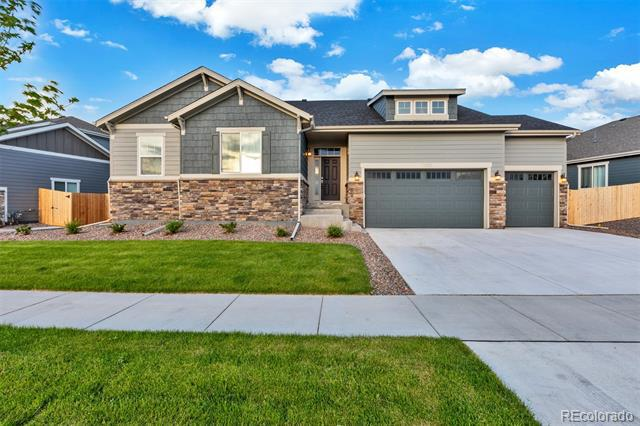 Photo of home for sale at 11350 Kalispell Street, Commerce City CO
