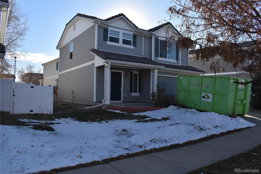Photo of home for sale at 21524 43rd Place E, Denver CO