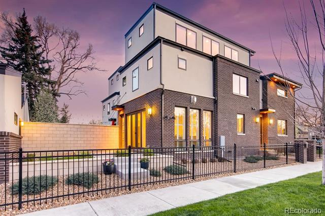 Photo of home for sale at 3690 Byron Place W, Denver CO