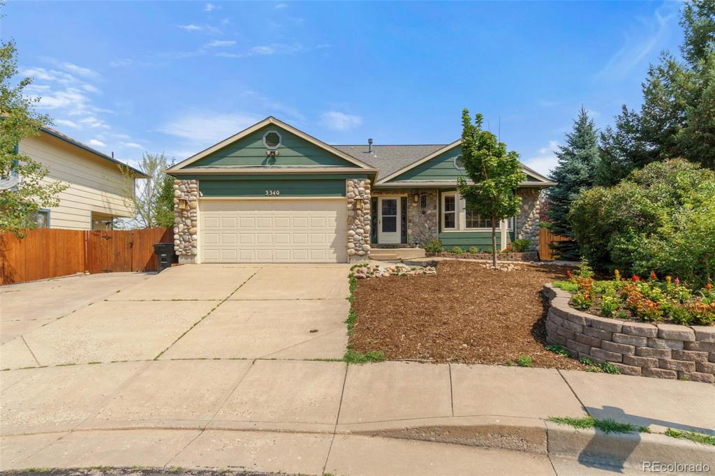 Photo of home for sale at 3340 Briarpatch Place, Colorado Springs CO