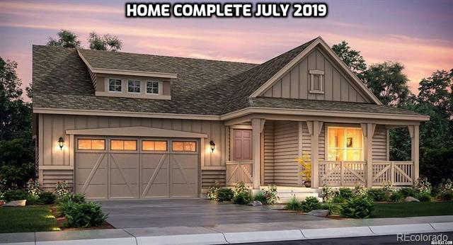 Photo of home for sale at 8267 Arapahoe Peak Street, Littleton CO