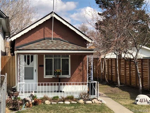 Photo of home for sale at 4114 Osage Street, Denver CO