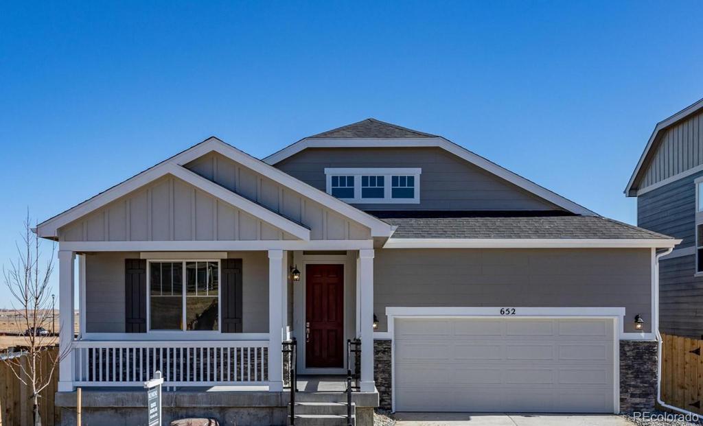 Photo of home for sale at 652 Hearthstone Avenue, Brighton CO