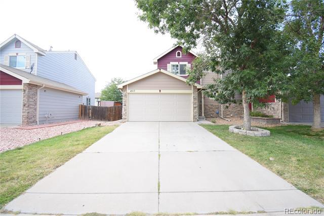 Photo of home for sale at 4517 Cornish Way, Denver CO