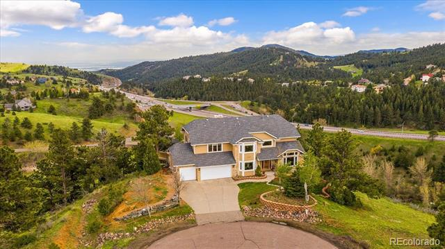 Photo of home for sale at 546 Buena Vista Road, Golden CO