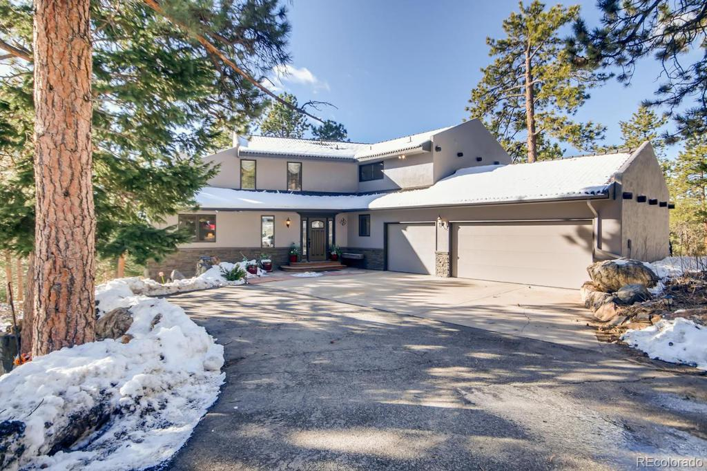 Photo of home for sale at 28646 Summit Ranch Drive, Golden CO