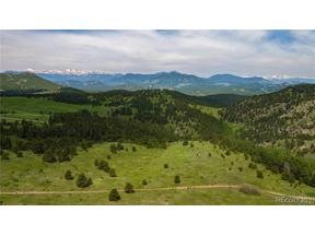 Property for sale at 0 Falcon View Road, Indian Hills,  Colorado 80454