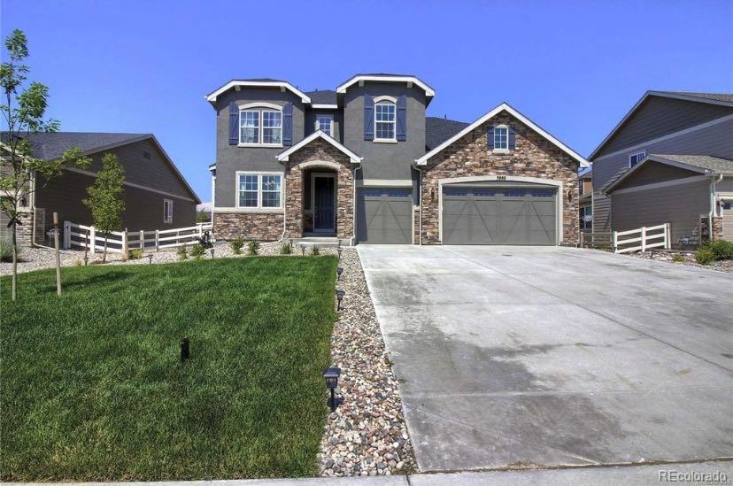 Photo of home for sale at 5889 Golden Field Lane, Castle Rock CO