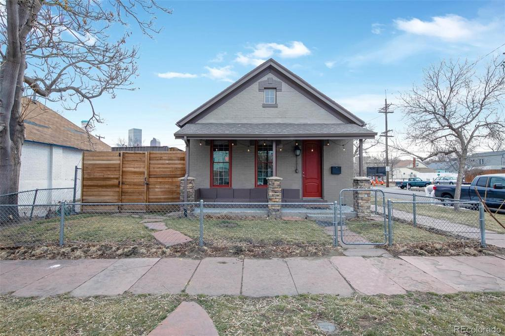 Photo of home for sale at 1400 Mariposa Street, Denver CO
