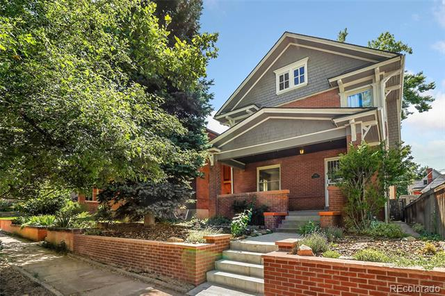 Photo of home for sale at 1467 Adams Street, Denver CO