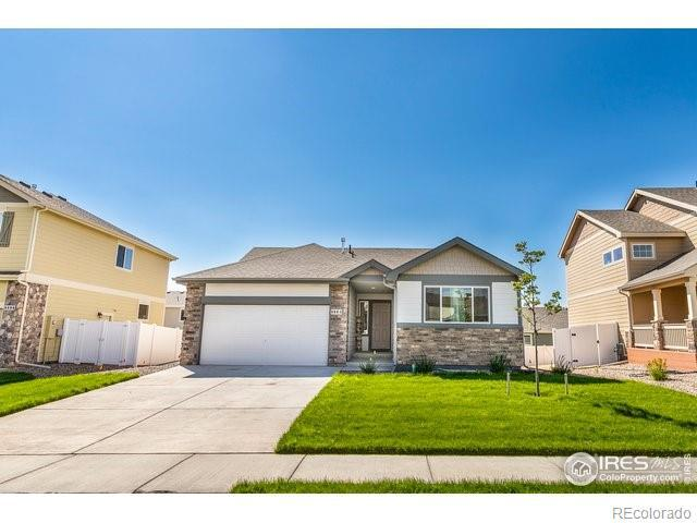 Photo of home for sale at 8804 15th Street Road, Greeley CO