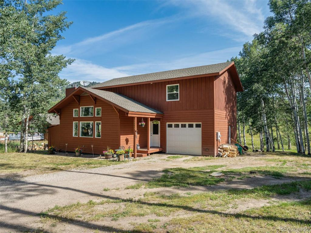 Photo of home for sale at 32563 Ute Trail, Oak Creek CO