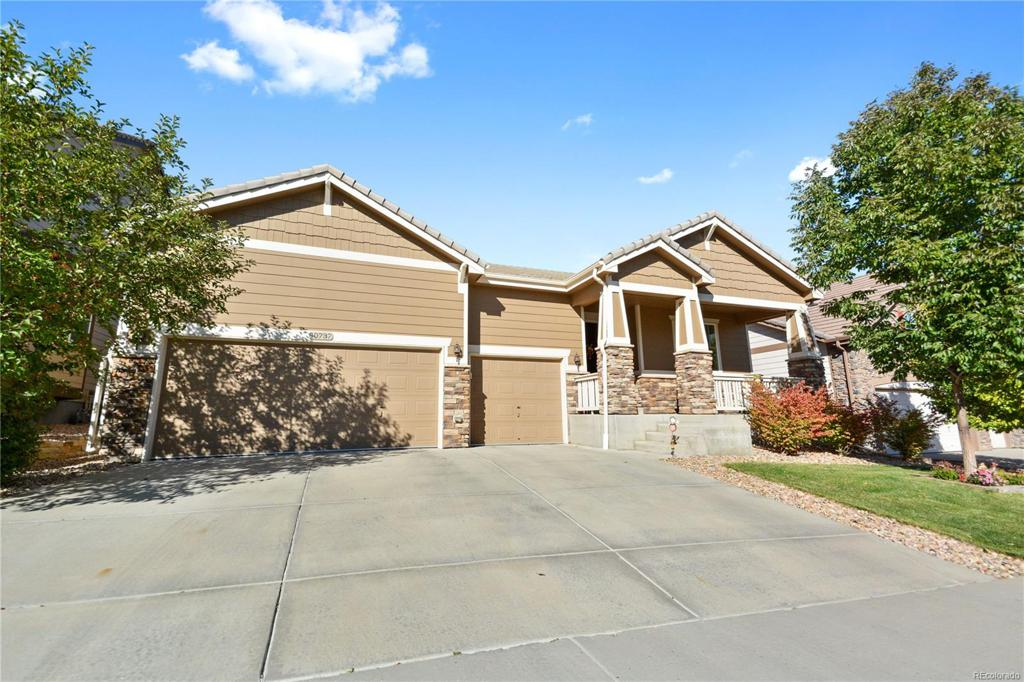 Photo of home for sale at 10737 Hillsboro Circle, Parker CO