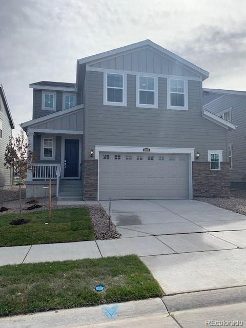 Photo of home for sale at 3258 Sellman Loop, Castle Rock CO