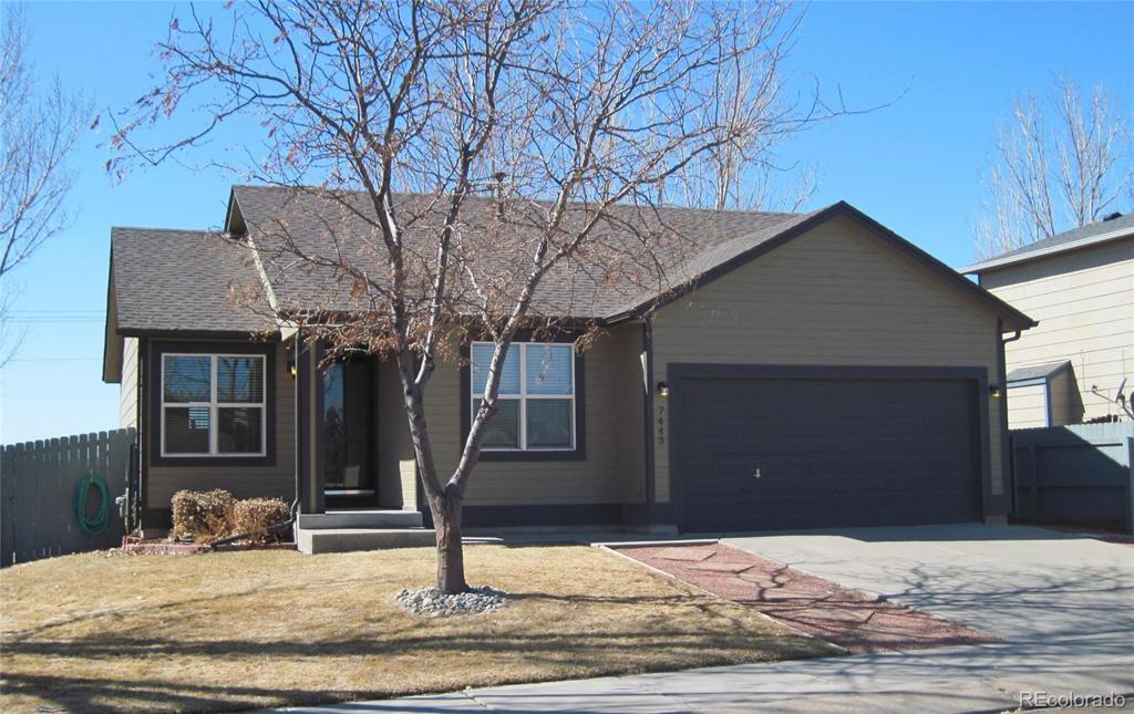 Photo of home for sale at 7443 Middle Bay Way, Fountain CO