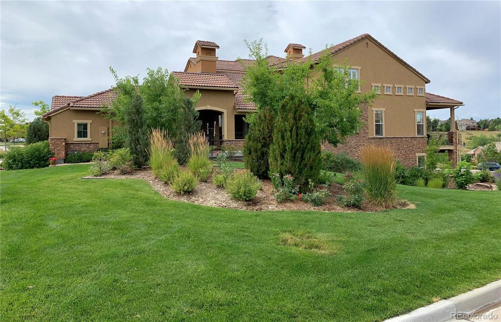 Photo of home for sale at 9551 Firenze Way, Highlands Ranch CO