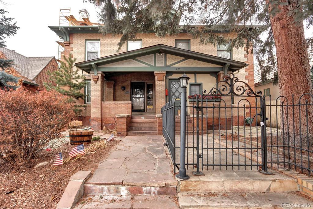 Photo of home for sale at 471 Humboldt N, Denver CO