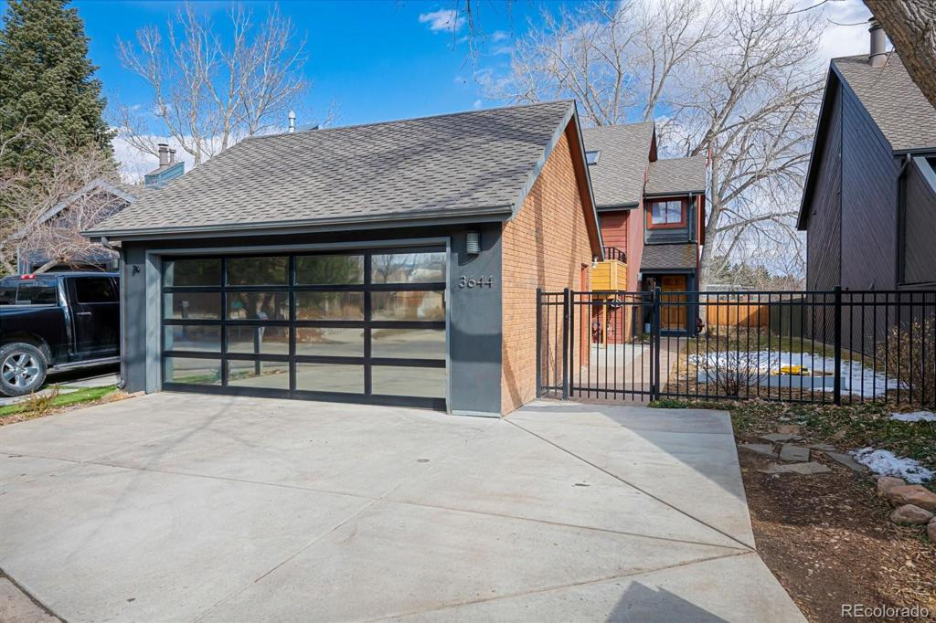 Photo of home for sale at 3644 Hazelwood Court, Boulder CO