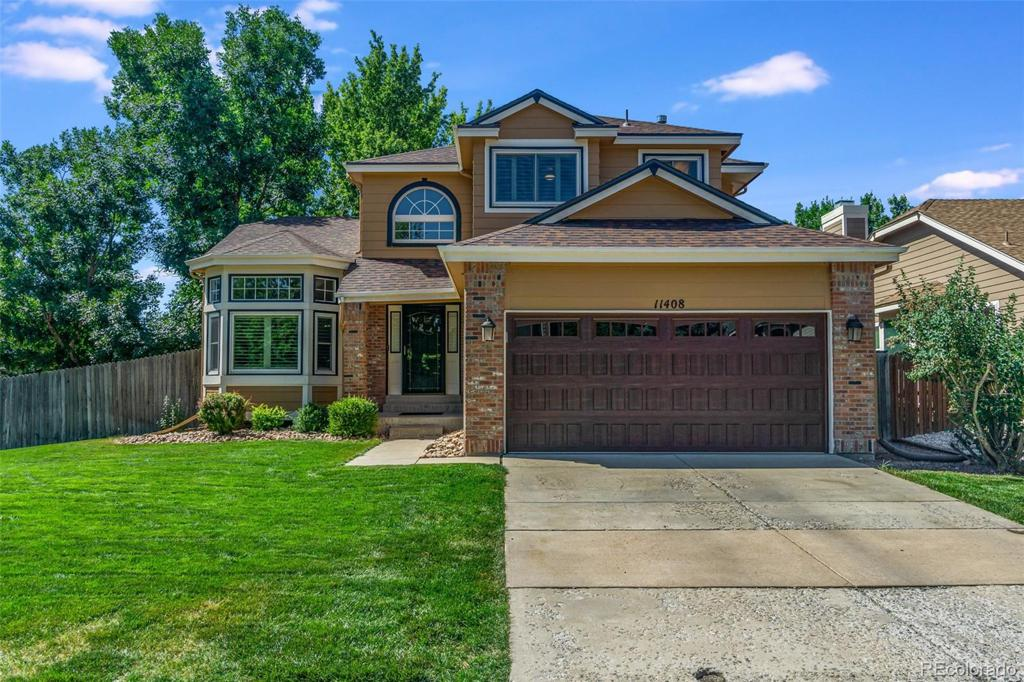 Photo of home for sale at 11408 Fremont Drive W, Littleton CO