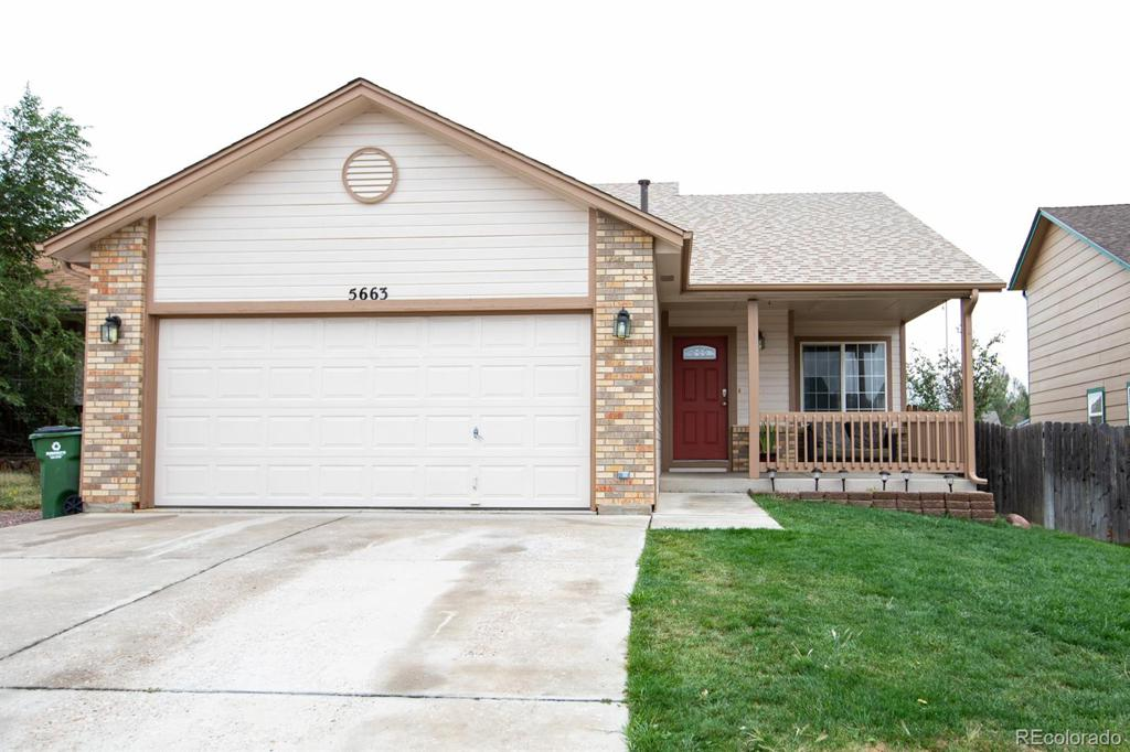 Photo of home for sale at 5663 Hawkesbury Drive, Colorado Springs CO