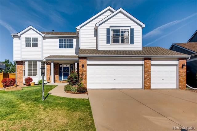 Photo of home for sale at 5447 Hannibal Way South, Centennial CO