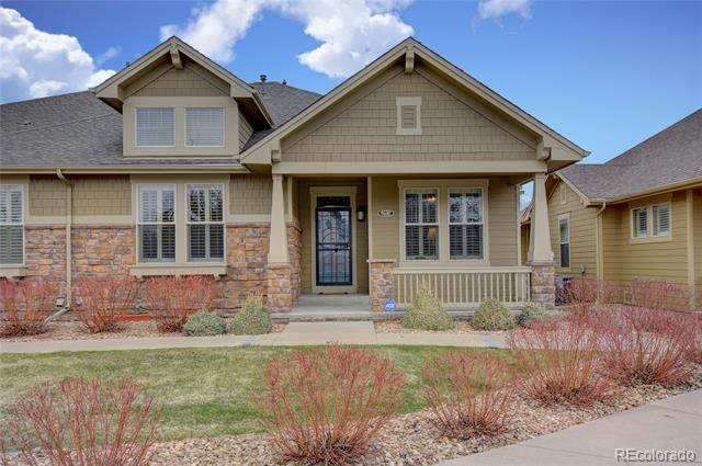 Photo of home for sale at 8592 Quarto Avenue W, Littleton CO