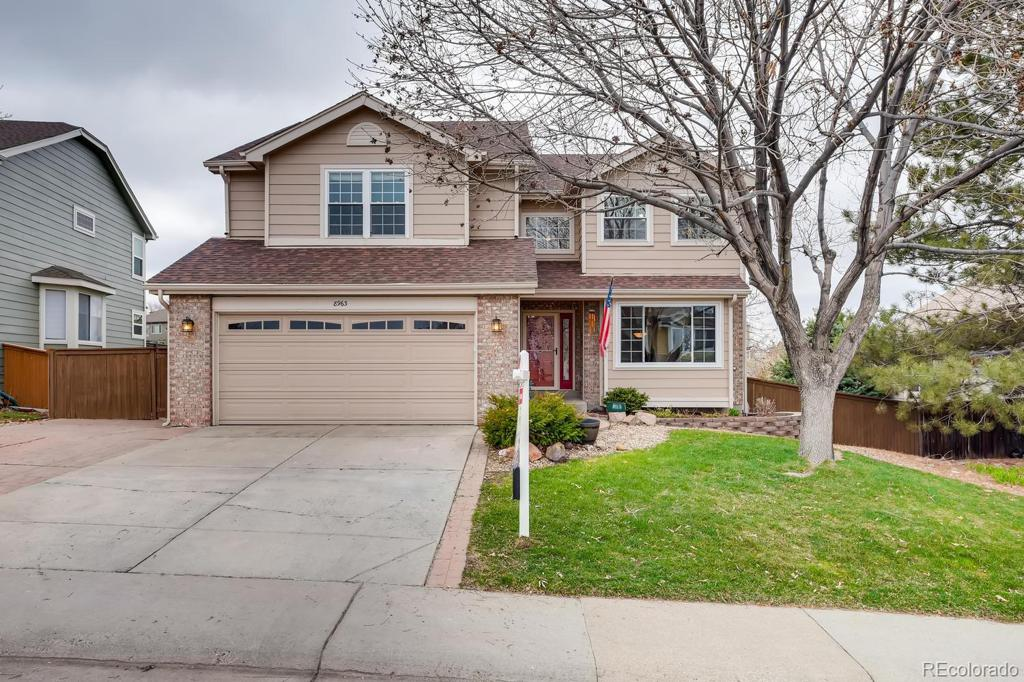 Photo of home for sale at 8963 Edgewood Street, Highlands Ranch CO