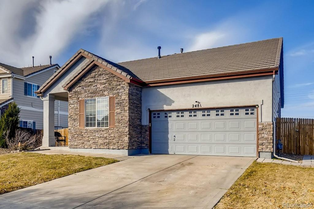 Photo of home for sale at 2481 Andes Circle S, Aurora CO