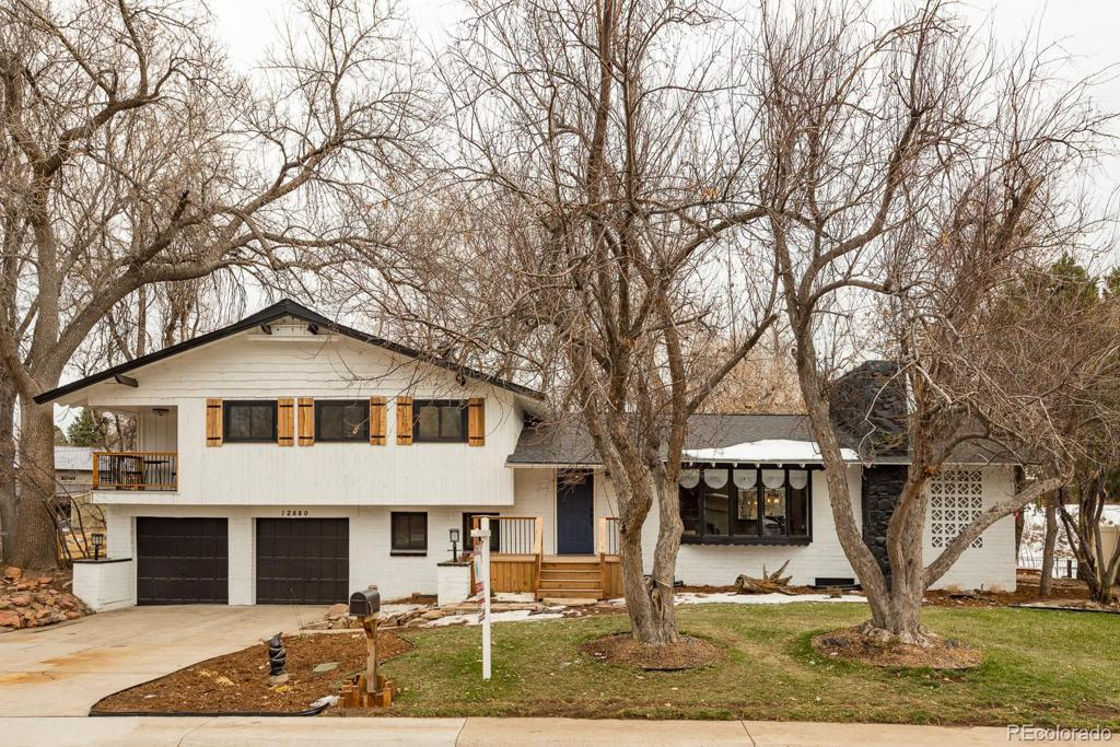 Photo of home for sale at 12880 16th Drive W, Golden CO