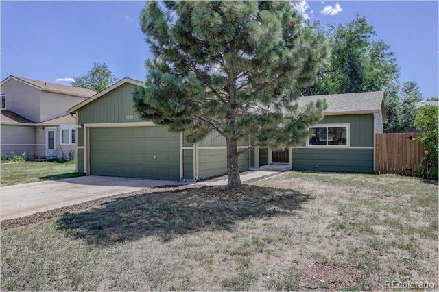 Photo of home for sale at 3389 Foxridge Drive, Colorado Springs CO