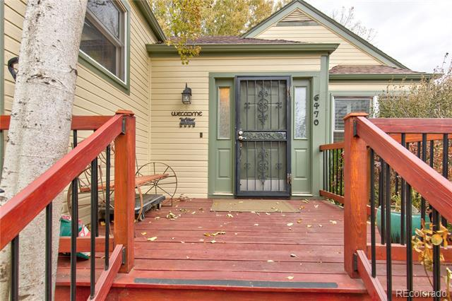Photo of home for sale at 6470 Filbert Lane South, Centennial CO