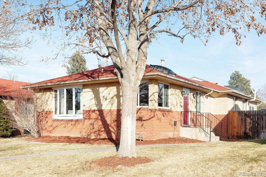 Photo of home for sale at 1076 Monroe Street S, Denver CO