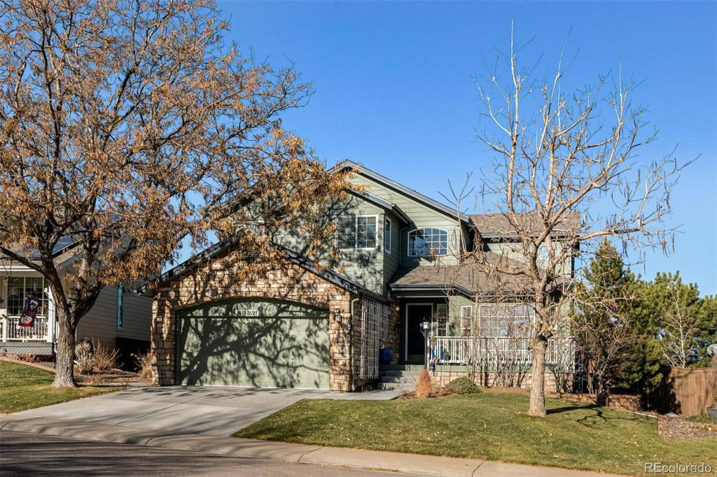Photo of home for sale at 8694 Aberdeen Circle, Highlands Ranch CO