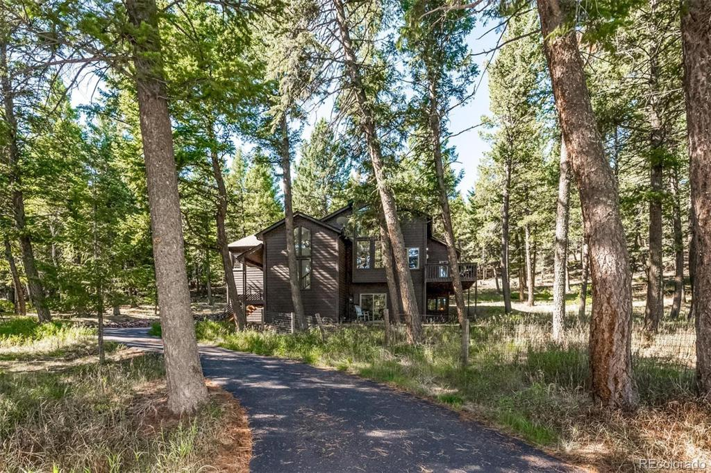 Photo of home for sale at 33278 Bluebell Circle, Evergreen CO