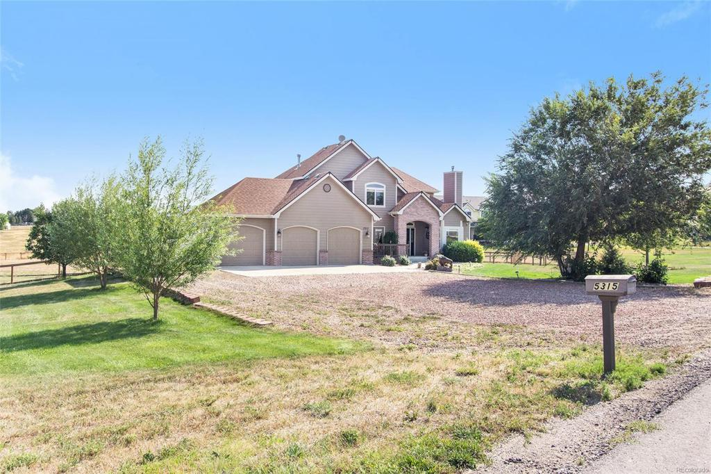 Photo of home for sale at 5315 Foothills Drive, Berthoud CO