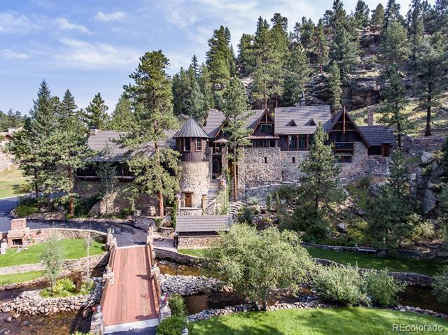 Photo of home for sale at 30403 Upper Bear Creek Road, Evergreen CO