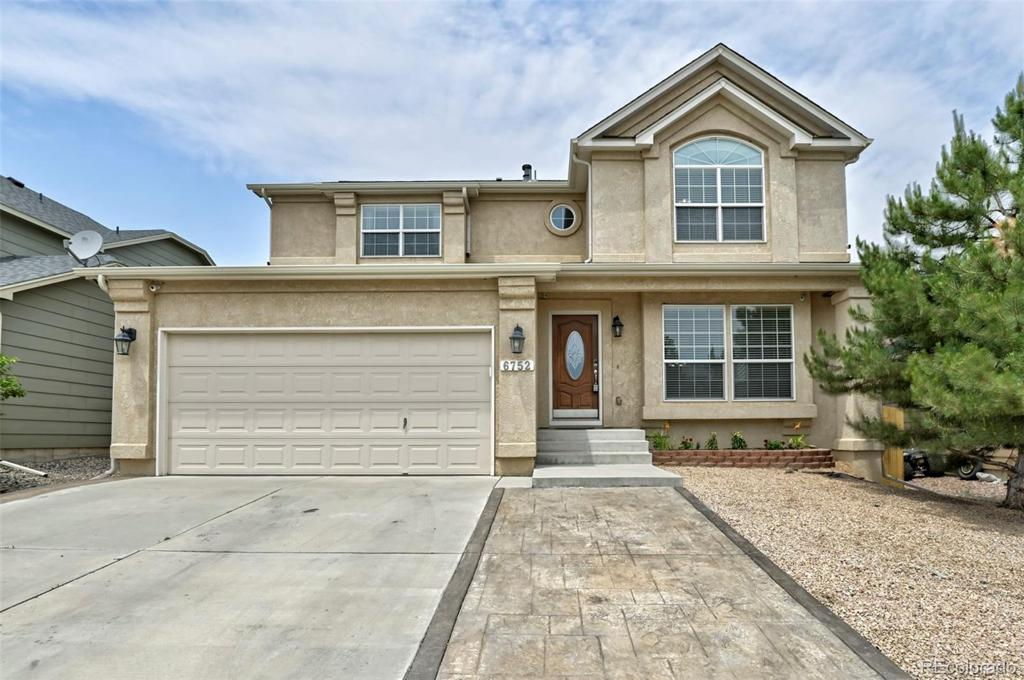 Photo of home for sale at 6752 Ventana Lane, Fountain CO