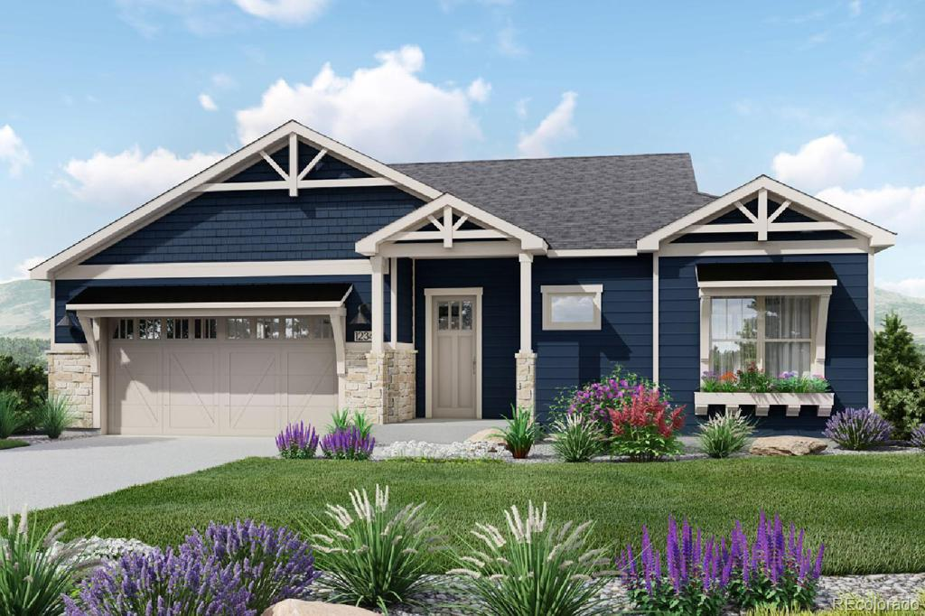 Photo of home for sale at 10258 Coal Mine Place W, Littleton CO